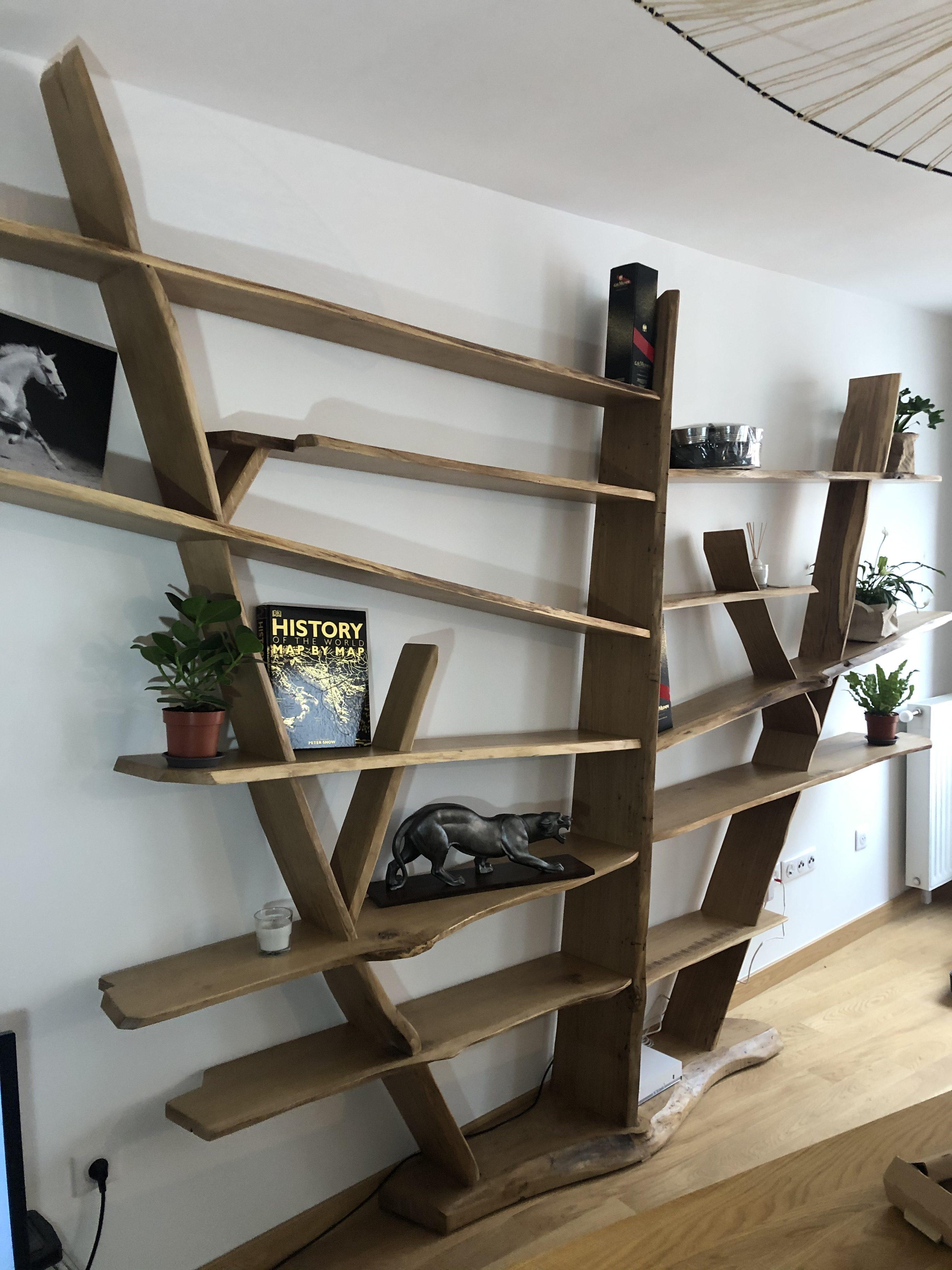 bibliothèque design - eric regnier ebenisterie
